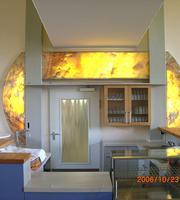 Komfortable Glaskonstruktionen